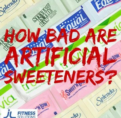 Artificial Sweetners - JL Fitness Solutions