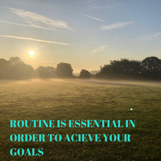 JL Fitness solutions - the importance of routine